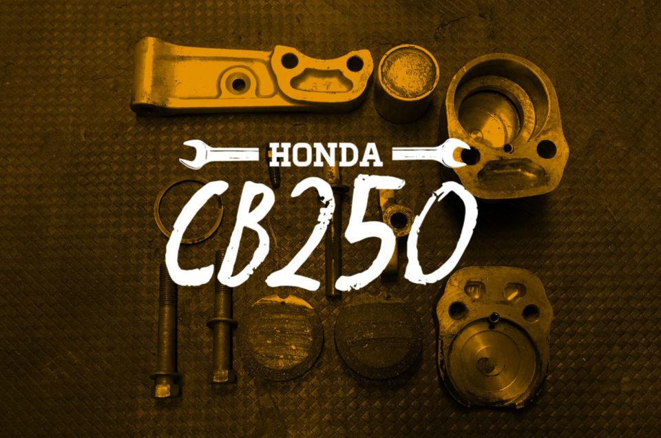 Honda CB250 - Bremse