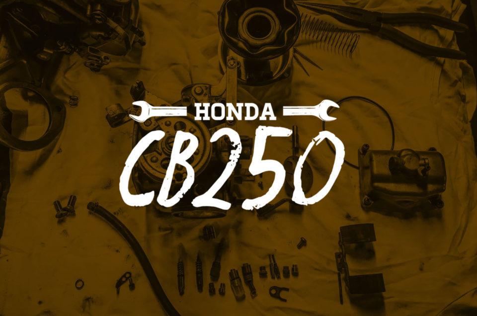 Honda CB250 - Vergaser Service