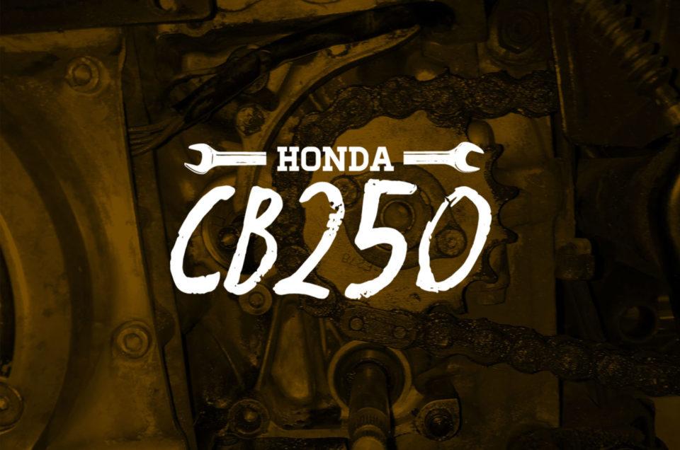 Honda CB250 - Ölverlust
