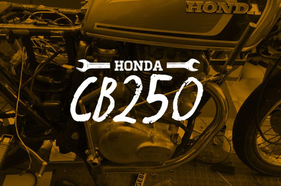 Honda CB250 - Tankschaltung