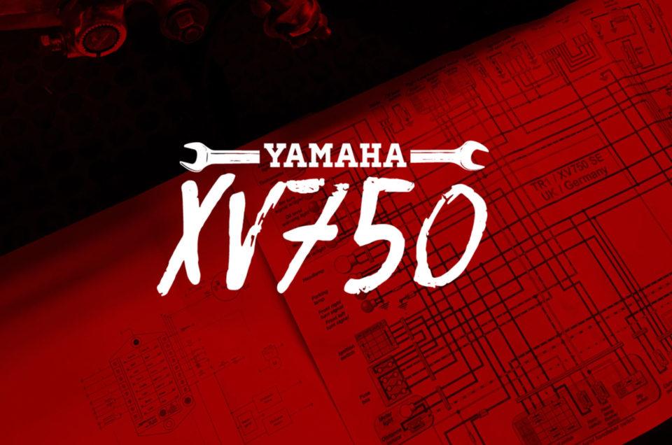 Yamaha XV750 - Kabelbaum
