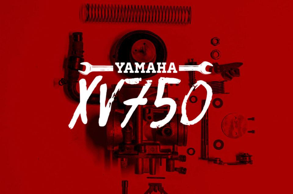 Yamaha XV750 - Vergaser