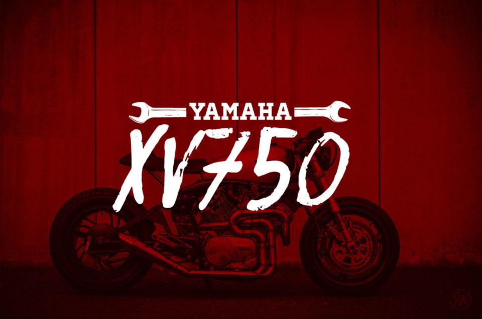 Yamaha XV750 - Shooting