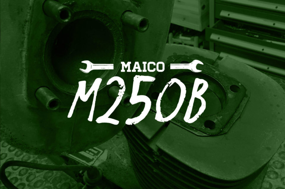 Maico M250B - Motor zerlegen
