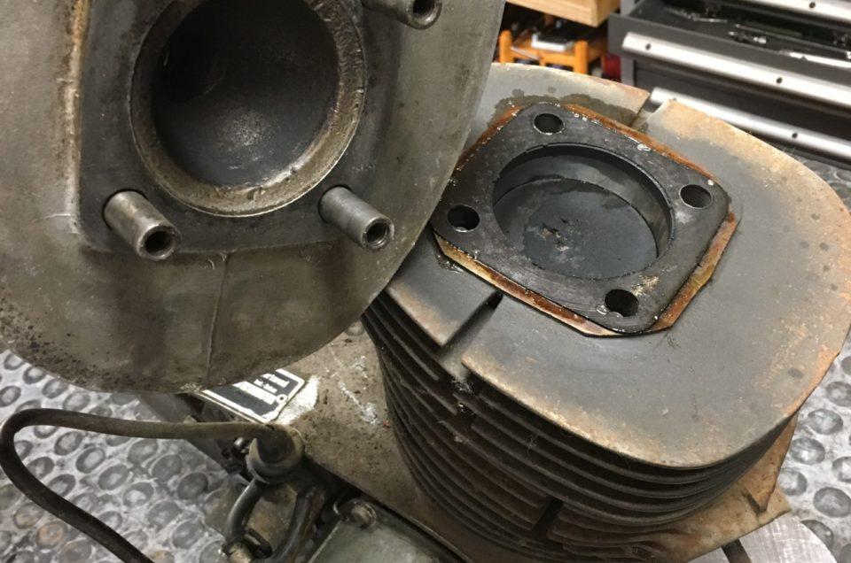 Maico M250B – Motor zerlegen