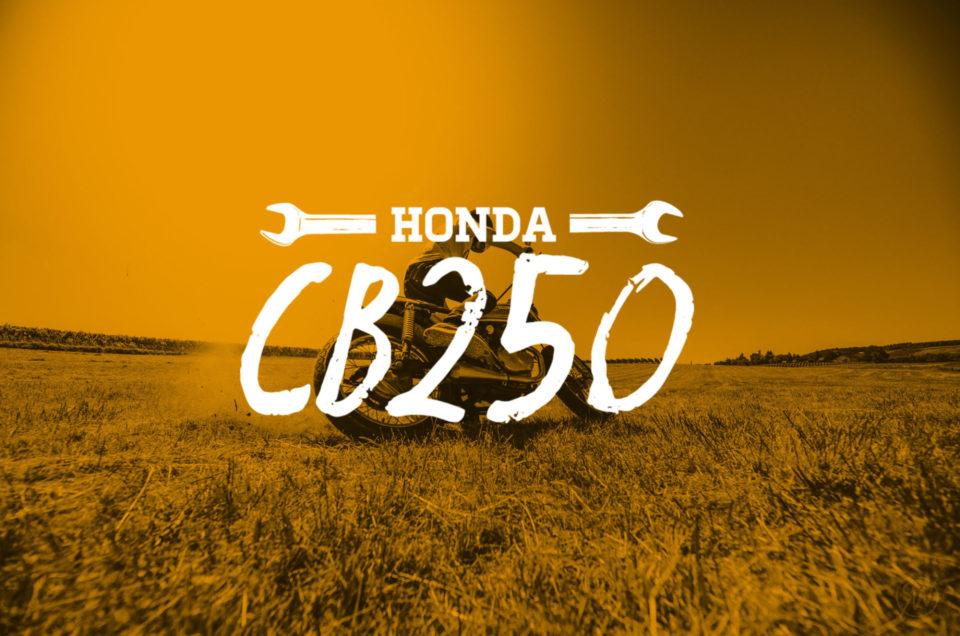 Honda CB250 - Action