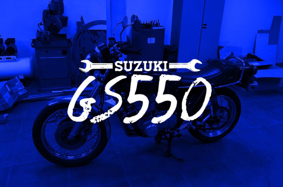Suzuki GS550 - Anlassen