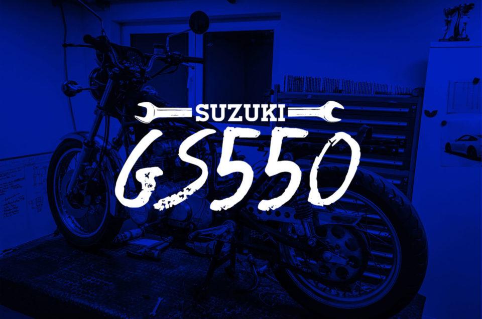 Suzuki GS550 - Striptease
