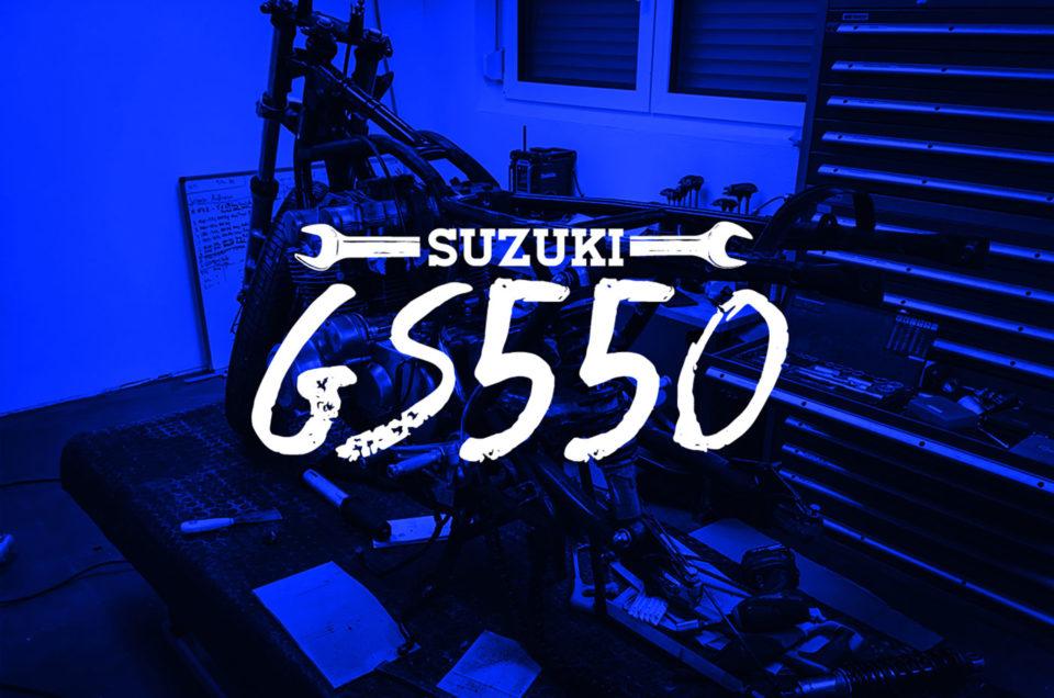GS550 - Rahmen Cleanen