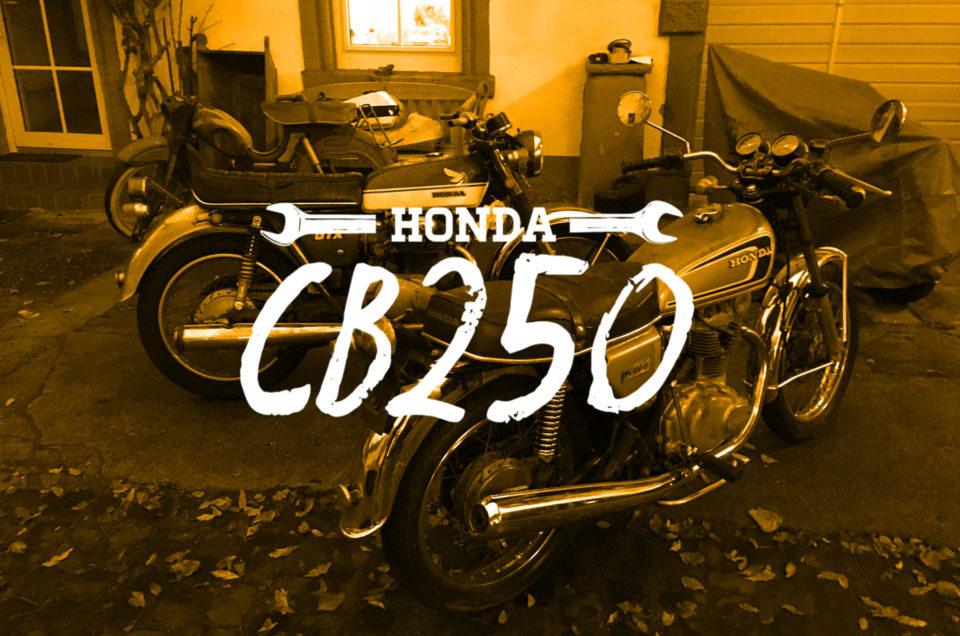 Honda CB250 - Die Neue im Haus