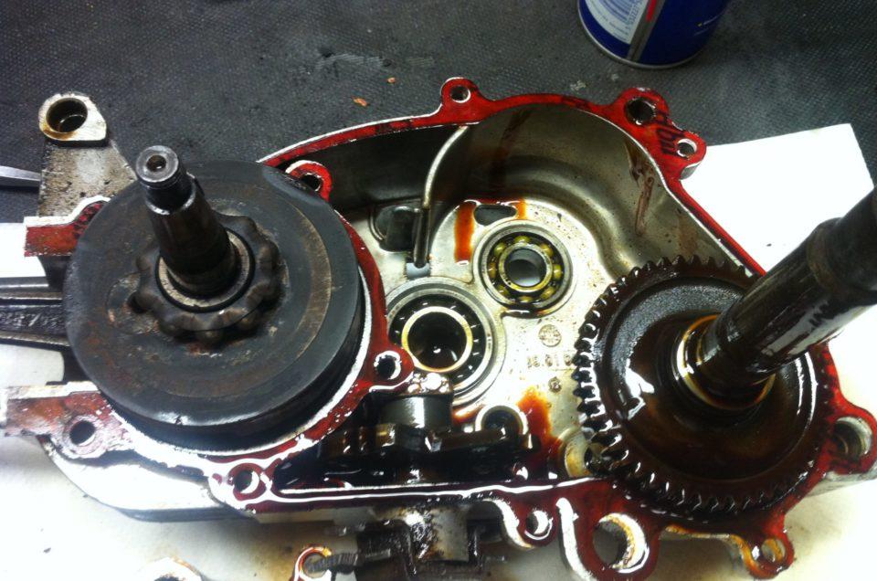 Kreidler Florett Motor zerlegen