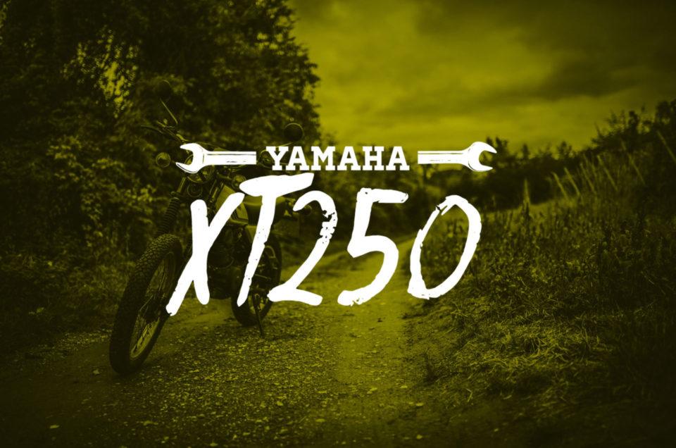Yamaha XT250  - Shooting