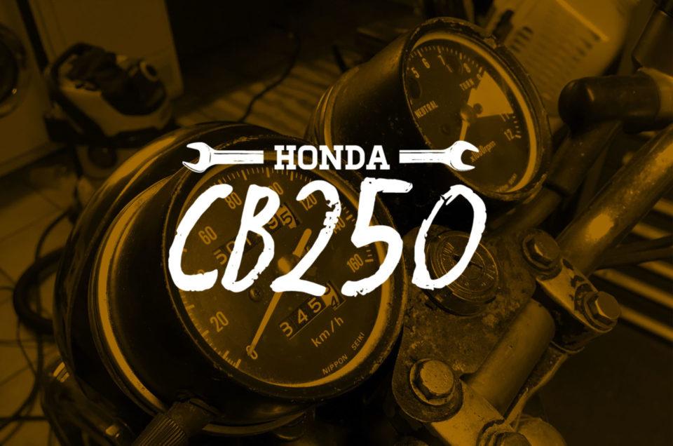 Honda CB250 - Tacho Rework