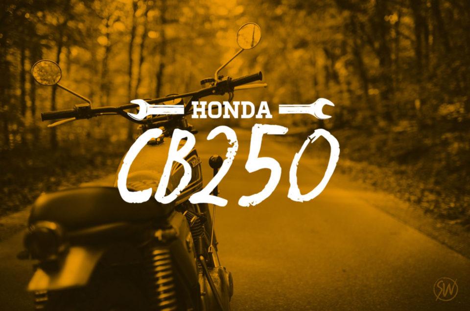 CB250 -  Neue Schalldämpfer