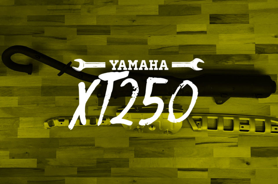 Yamaha XT250 - Auspuff