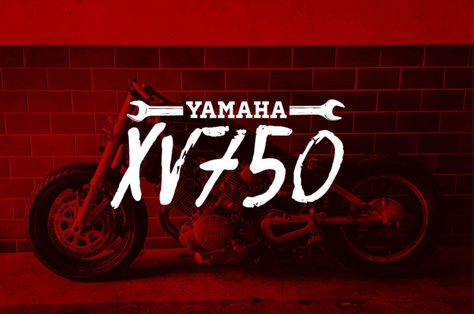 Yamaha XV750 - Gabel