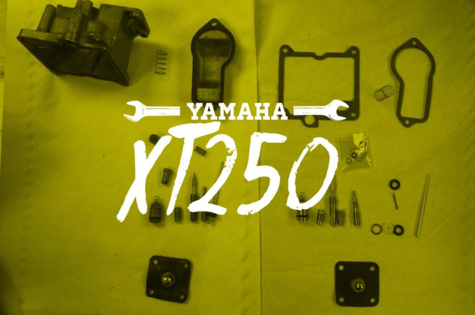 Yamaha XT250 - Vergaserservice