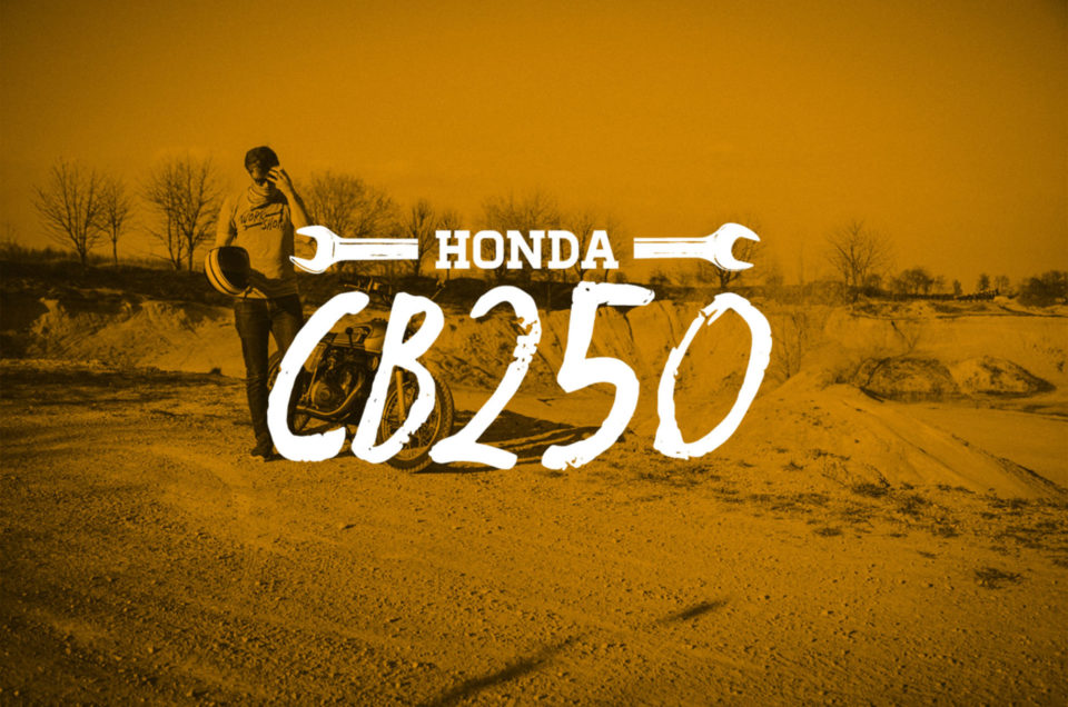 CB250 - Ab ins Kies