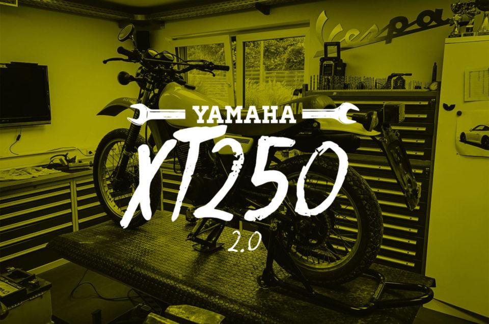 XT250 - kleine Reparaturen