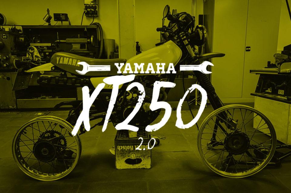 XT250 - Gepäckträger und Reifen