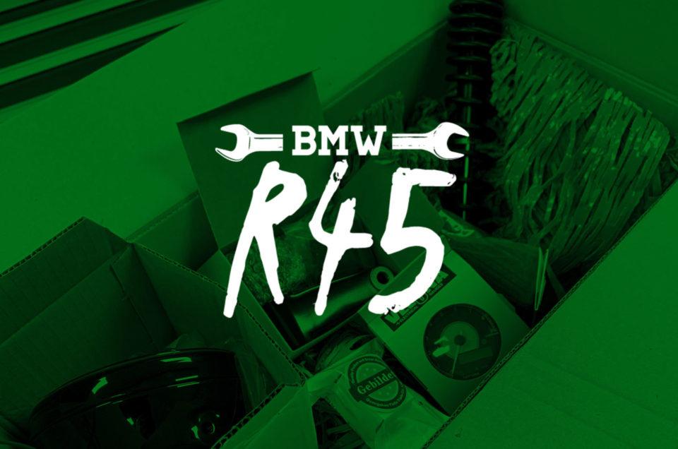 R45 - Fender und Sitz