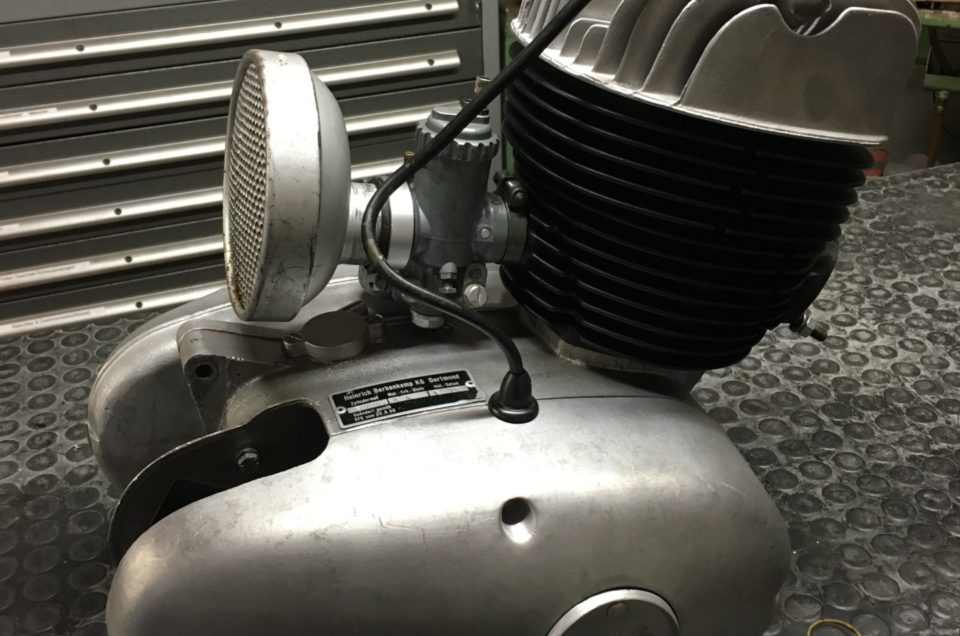 Maico M250B - Motor zusammenbau Teil 2