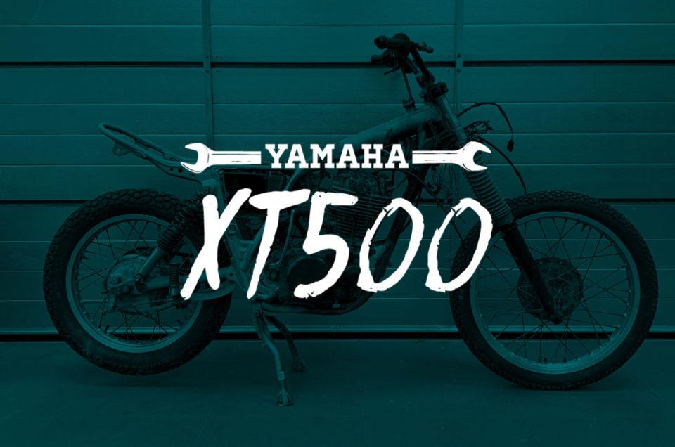 XT500 Tagebuch Teil 2 Gabel tauschen
