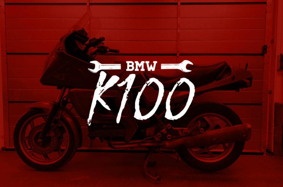 BMW K100 - The flying Brick