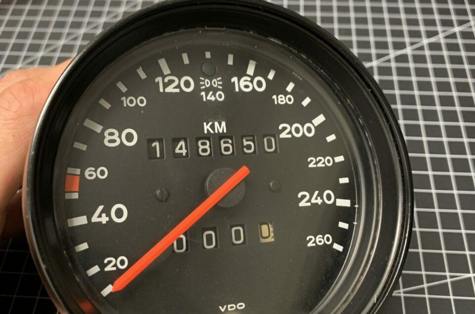 911 Carrera Tacho Reparatur